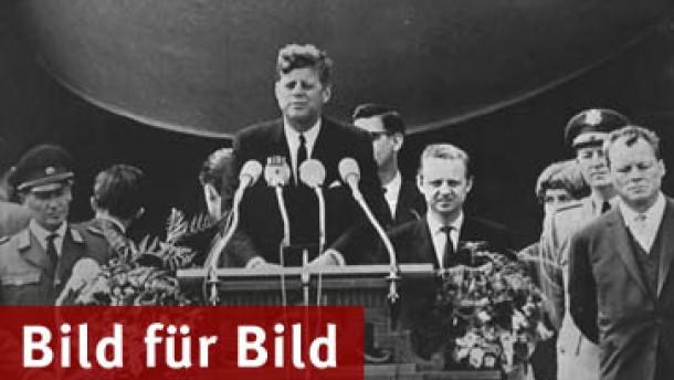 Amerikanische Präsidenten zieht es immer wieder nach Berlin