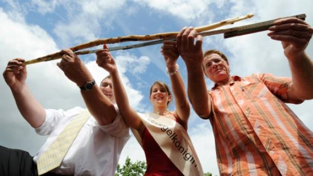 Bauer Lipp will mit Riesen-Spargel ins Guinness-Buch