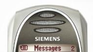 Provokativ: Siemens-Handy SL 55