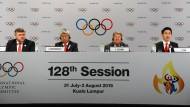 Entscheidung über Winterspiele 2022