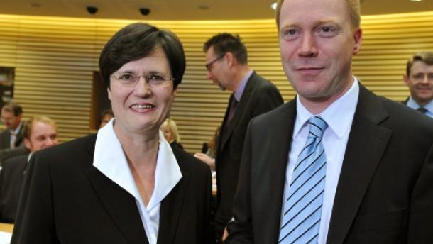 Lieberknecht beendet mit neuem Kabinett die Ära Althaus