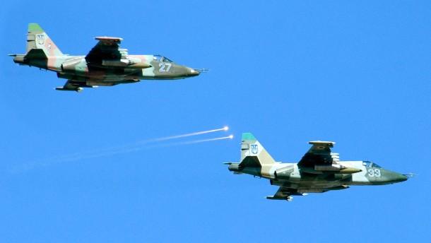 Kiew: Kampfjets von Russland aus abgeschossen