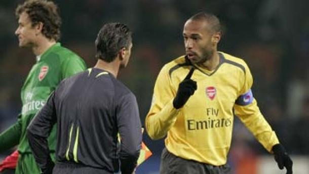 Arsenal fühlt sich betrogen
