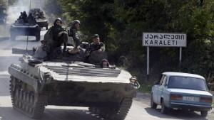 Kouchner: Russen haben Pufferzone geräumt