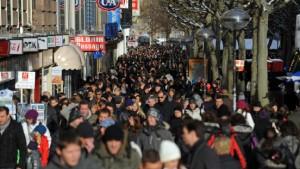 Der Einzelhandel sieht die Krise überwunden