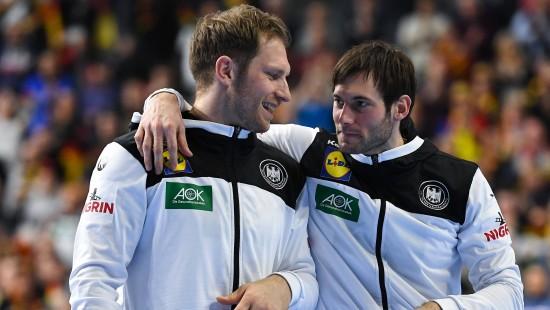 Deutsche Handballer wollen ins WM-Finale