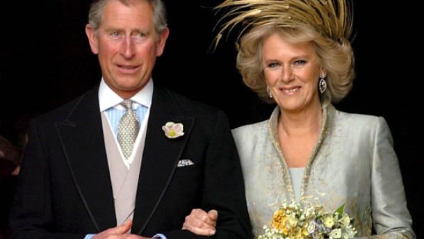 Prince Charles And Camilla Wedding Cake