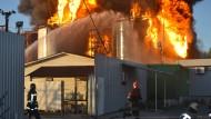 Treibstofflager explodiert