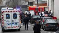 Mindestens elf Tote in Pariser Satireredaktion