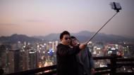 Haftstrafen für Selfie-Liebhaber in Südkorea