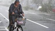Taifun wütet auf Taiwan