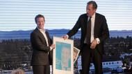 Facebook-Chef bekommt Axel Springer Award