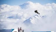 Freestyle-Snowboard WM mit der größten Halfpipe der Welt