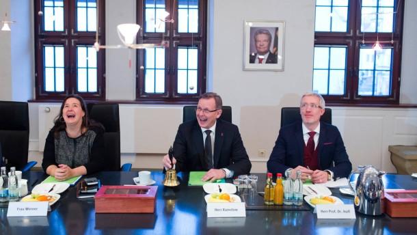 Ramelows rot-rot-grünes Kabinett