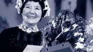 Liesel Christ 1993 im Frankfurter Volkstheater, das sie 1971 gegründet hat