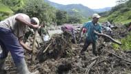 Über 50 Tote bei Erdrutsch in Kolumbien
