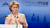 Von der Leyen: Keine Waffenlieferungen an Ukraine