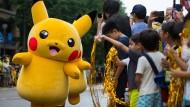 Pikachu-Parade verzückt Yokohama