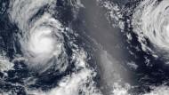 Hurrikans aus dem All beobachtet