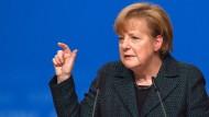 Merkel: Es geht bei historischer Null nicht ums Feiern