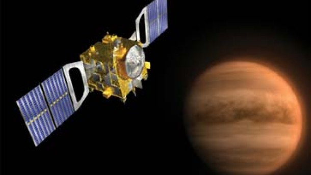 Venus Express hat die Kurve gekriegt