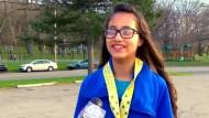 Zwölfjährige rennt Halbmarathon – aus Versehen
