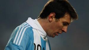 Messi und Argentinien enttäuschen