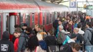 Erleichterung über Ende des Bahnstreiks