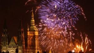 Volksfeste und Feuerwerke zur EU-Erweiterung