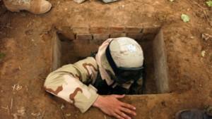 Saddams Erdloch: Zerstören oder für Touristen öffnen?