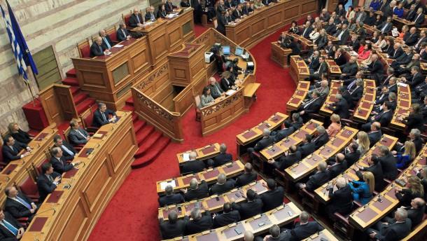Griechen müssen Parlament neu wählen