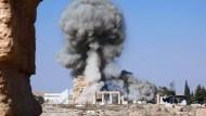 IS zerstört teilweise weiteren Tempel in Palmyra