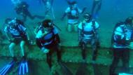 Altes Schiffswrack lockt tausende Taucher nach Zypern