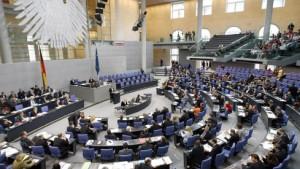 Bundestag beschließt Haushalt 2008