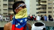 Caracas kommt nicht zur Ruhe
