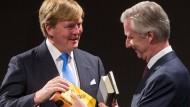 Frankfurter Buchmesse mit royalen Gästen eröffnet