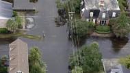 Luftaufnahmen zeigen Ausmaß der Überschwemmungen in South Carolina