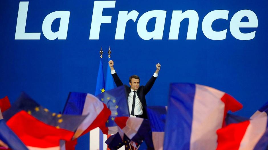 Erleichterung in Deutschland nach Frankreich-Wahl