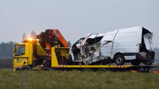 Zwölf Tote bei Verkehrsunfall in Frankreich