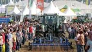 Bei den Feldtagen werden auch neue Landmaschinen präsentiert