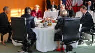 Obama trifft fünf europäische Staatschefs