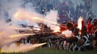 6000 Laiendarsteller spielen Schlacht von Waterloo nach