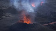 Vulkan auf La Réunion ausgebrochen