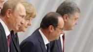 Einigung auf Waffenruhe in Ostukraine