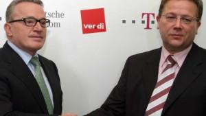 Einigung zwischen Telekom und Verdi