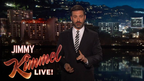 Jimmy Kimmel präsentiert seinen Plan Amerika vor Trump zu retten