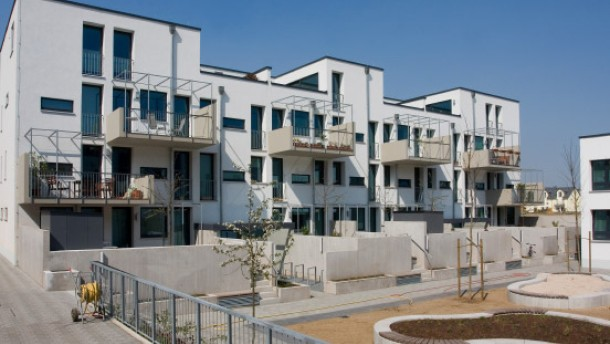 neubauviertel riedberg sch n wohnen im norden frankfurt faz. Black Bedroom Furniture Sets. Home Design Ideas