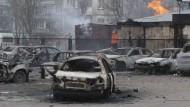 Viele Tote bei Angriff auf Mariupol