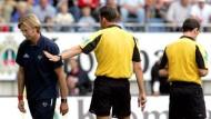 Wenig Freude in der Bundesliga: Mainz-Trainer Klopp