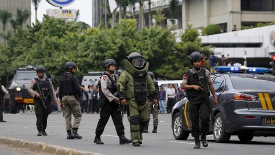 Lage nach Anschlägen in Jakarta unter Kontrolle